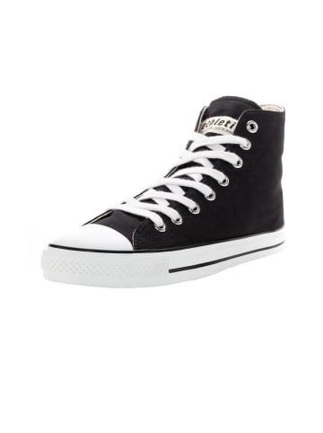 Ethletic Sneaker Lo Fair Trainer White Cap Hi Cut in jet black   just white