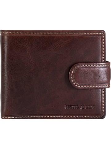 Jekyll & Hide Oxford Geldbörse RFID Leder 12 cm in coffee2