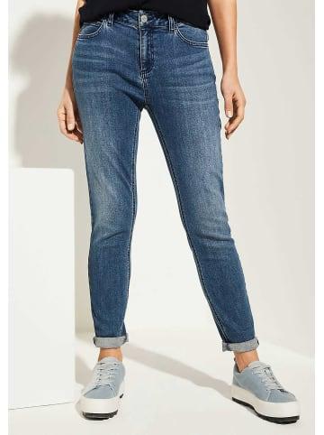 Comma Regular Fit Jeans in blau