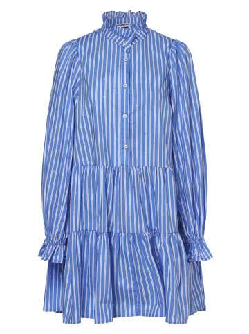 Essentiel Antwerp Kleid Zinga in hellblau weiß