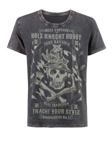"Stockerpoint T-Shirt ""Buddy"" in anthrazit"