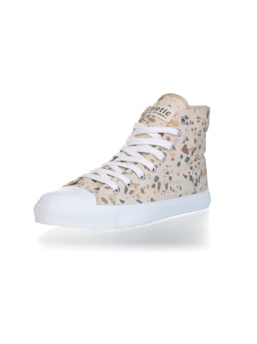 Ethletic Sneaker Hi Fair Trainer White Cap in terrazzo caramel   just white