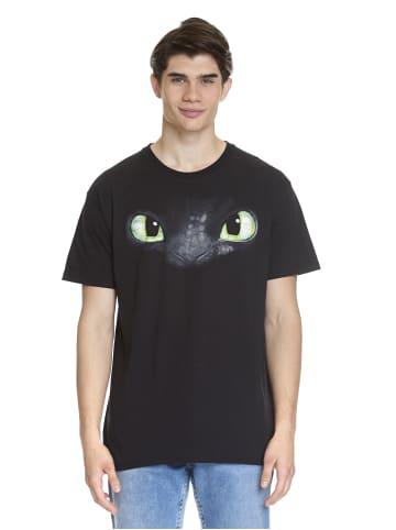 DRAGONS T-Shirt Eyes in schwarz