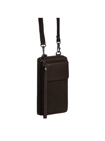 The Chesterfield Brand Wax Pull Up Malaga Handytasche Leder 10 cm in brown