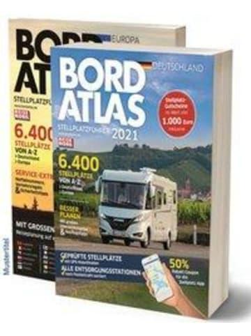 Medien Bordatlas Stellplatzführer 2021   2 Bände; Deutschland und Europa