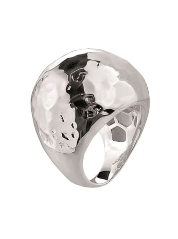 Pippa & Jean Modeschmuckring Messing in Silber in silber
