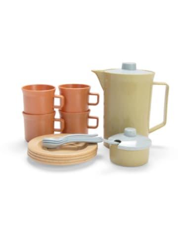 Dantoy BIOplastic Kaffee-Service für 4 in Geschenkbox, beige-kombi