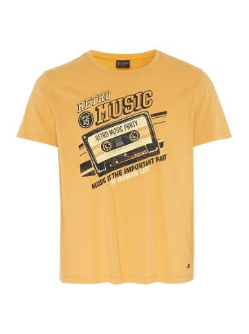 Oklahoma Premium Denim T-Shirt in 14-1050 Marigold