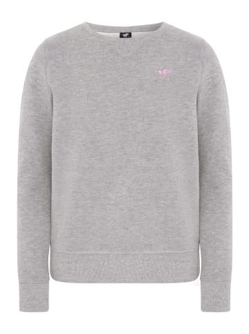 Polo Sylt Sweatshirt in Neutr. Gray