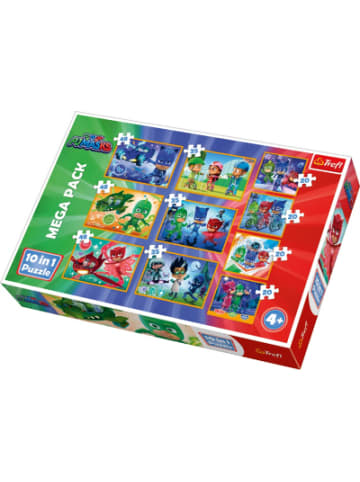 Trefl 10in1 Puzzle 20/35/48 Teile - PJ Masks
