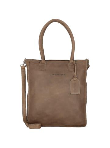 Cowboysbag Woodridge Schultertasche Leder 30 cm Laptopfach in storm grey