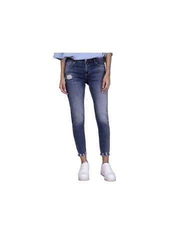 Blue Fire Jeans in grau