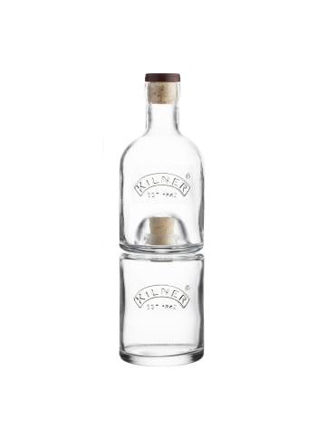 Kilner Stapelbares 2er Flaschenset mit je 350 ml