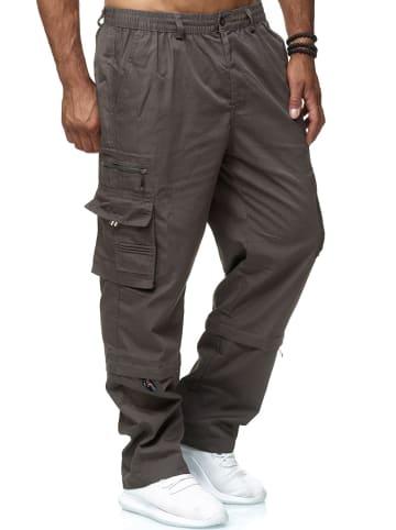 LMC Cargo Hose 2-in-1 Zip Off Trennbar 3/4 Shorts Schlupfhose in Grau