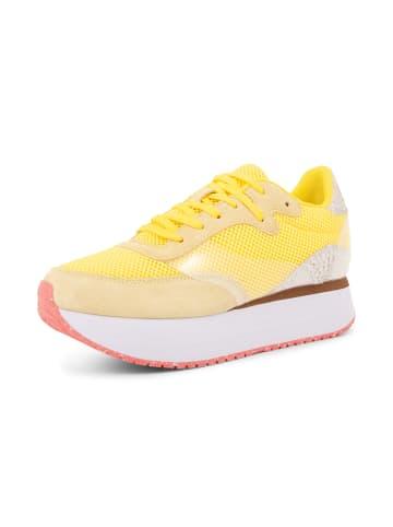 WODEN Sneakers Linea in Gelb