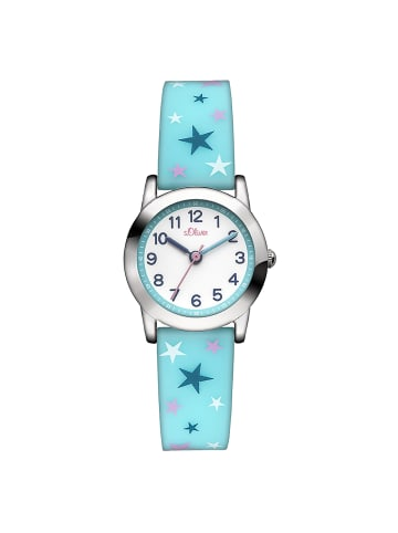 S.Oliver Time Armbanduhr SO-2896-PQ in mehrfarbig