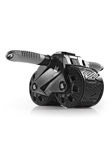 FitEngine Bauchmuskel-Roller in Schwarz / Grau