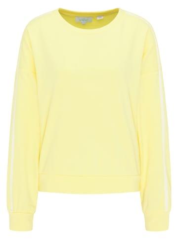 Usha BLUE LABEL Sweatshirt in Gelb