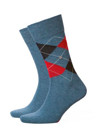 Burlington Socken 2er Pack in Blau