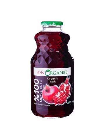 Granar 6 x 946ml Bio Granatapfel Direktsaft von Benorganic