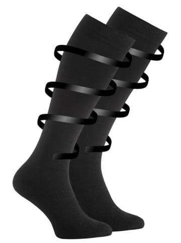 VCA® Stütz- und Reisekniestrümpfe mit Kompressionseffekt in schwarz