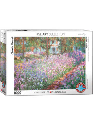 Eurographics Puzzle 1000 Teile-Monets Garten bei Giverny