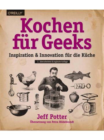 Dpunkt Kochen für Geeks | Inspiration & Innovation für die Küche