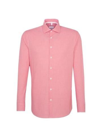 Seidensticker Business Hemd Shaped in Rot