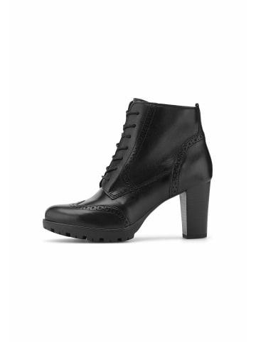 COX Schnürstiefelette Schnür-Stiefelette in schwarz