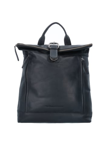 The Chesterfield Brand Wax Pull Up Dali Rucksack Leder 35 cm in schwarz