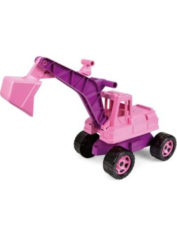 LENA GIGA TRUCKS Sitzbagger, rosa, ca. 70 cm