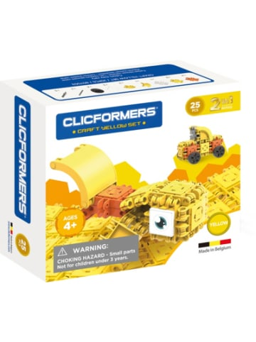 CLICFORMERS - Bastel-Set gelb - 25 Stück
