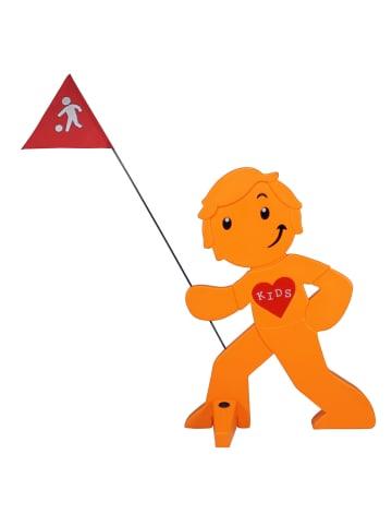 StreetBuddy StreetBuddy Warnfigur für Kindersicherheit in Orange
