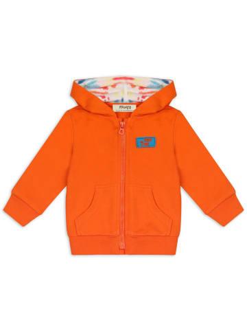 Panco Sweatshirt - mit Kängerutasche - für Jungen in Orange