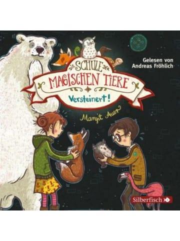 Silberfisch Die Schule der magischen Tiere , Versteinert!, 2 Audio-CDs