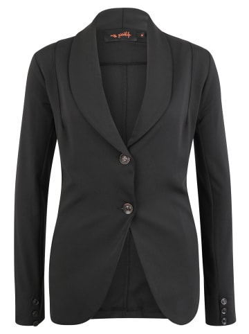 Miss goodlife Blazer mit Kontraststreifen in black