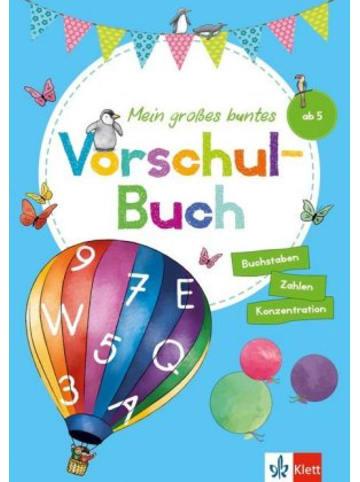 Klett Kinderbuch Mein großes buntes Vorschul-Buch