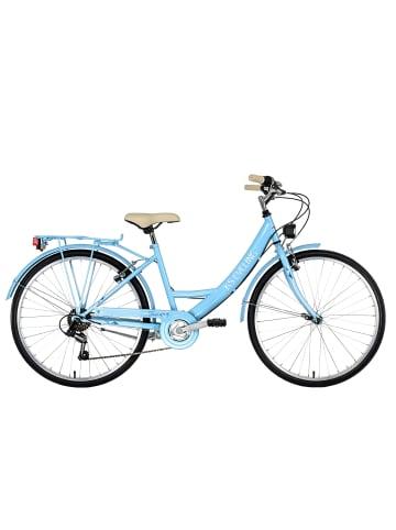 KS CYCLING Damenfahrrad 26'' Toscana in blau