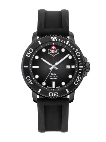 Jacques du Manoir Armbanduhr in Schwarz