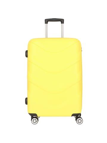 Stratic Arrow 2 4-Rollen Trolley 65 cm in yellow