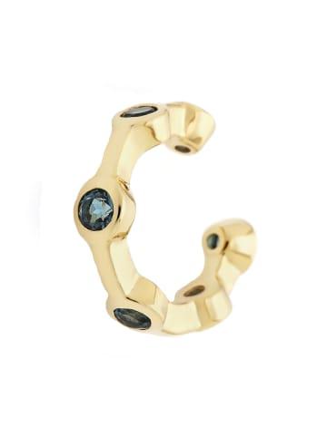 Carolin Stone Jewelry Earcuff in Gold