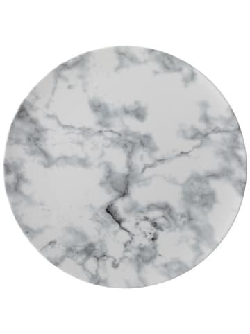 Like. by Villeroy & Boch Speiseteller white Marmory in schwarz