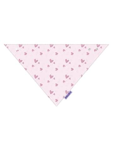 Dooky Baby Lätzchen / Pink Herz in pink