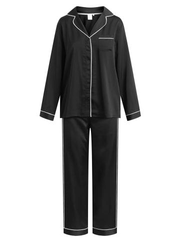 CCDK  Pyjama Set, lange Hose und Langarmhemd Josephine L/S in schwarz