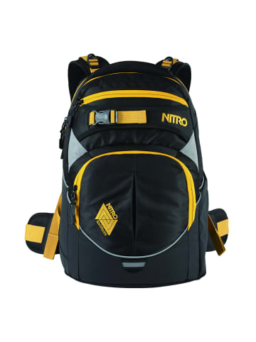 Nitro Daypack Superhero Schulrucksack 44 cm in golden black