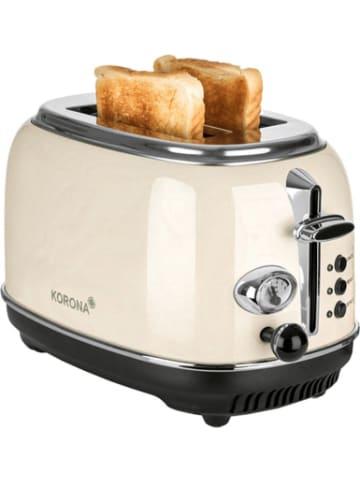 KORONA Retro 2-Scheiben Toaster, 815Watt