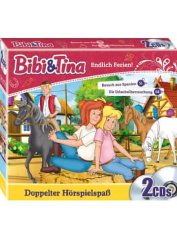 KIDDINX CD Bibi & Tina - Endlich Ferien! CD-Box Folge 51+ 68 (2 CDs)