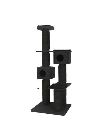 EBI Mega Kratzbaum Onyx 88x75x208cm, schwarz