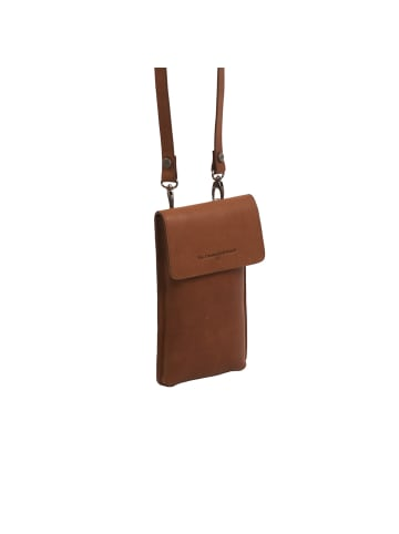 The Chesterfield Brand Wax Pull Up Andrea Handytasche Leder 11 cm in cognac