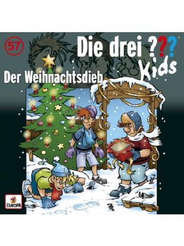 Die drei Fragezeichen CD Die drei ??? Kids 57 - Der Weihnachtsdieb